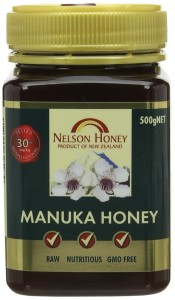 Nelson New Zealand  Raw Manuka Honey 30+ 500g