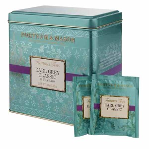 Fortnum & Mason Earl Grey Classic 50 Tea Bag Tin