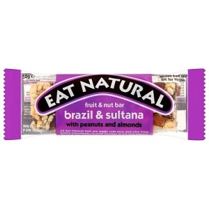 Eat Natural Brasil & Sultanas Bar 45g