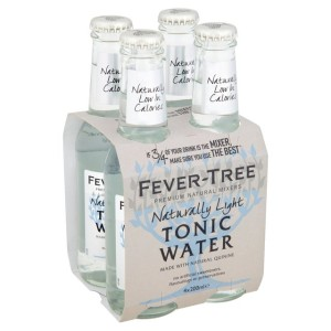 Fever-Tree Naturally Light Tonic Water 4 x 200ml