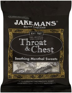 Jakemans Throat & Chest Menthol Lozenges 100g