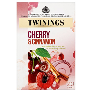 Twining's Cherry And Cinnamon 20 per pack