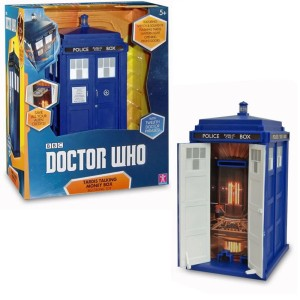 Doctor Who Tardis Electronic Talking Money Box