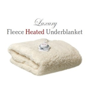 Snug as a Bug Double Luxury Fleece Heated Underblanket