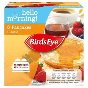 Birds Eye 6 Classic Pancakes Frozen 240g