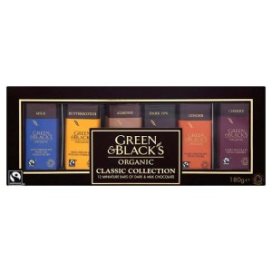 Green & Black's Organic Classic Miniatures Collection 180g