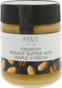 Marks & Spencer Crunchy Peanut Butter with Maple & Pecan 227g