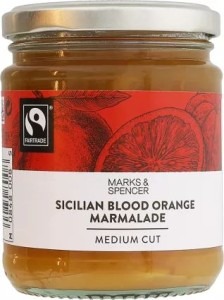 Marks & Spencer Sicilian Blood Orange Marmalade 340g