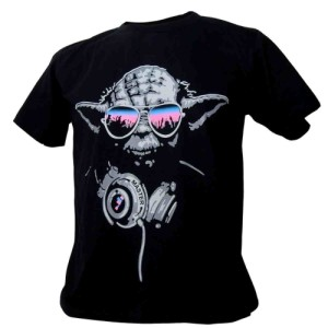 Immortal Man's Star Wars DJ Yoda Jedi Hip Hop Rap T-Shirt