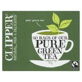 Clipper Pure Green Tea Bags 80 per pack