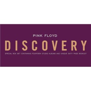 PINK FLOYD - The Discovery 14 Studio Album Catalogue Box Set (14CD & Booklet)