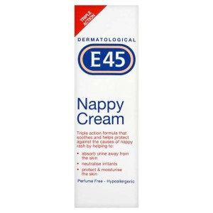 E45 Baby Nappy Cream 125g