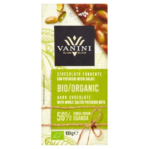 Vanini Dark Chocolate with Whole Salted Pistachio Nuts 100g.jpg
