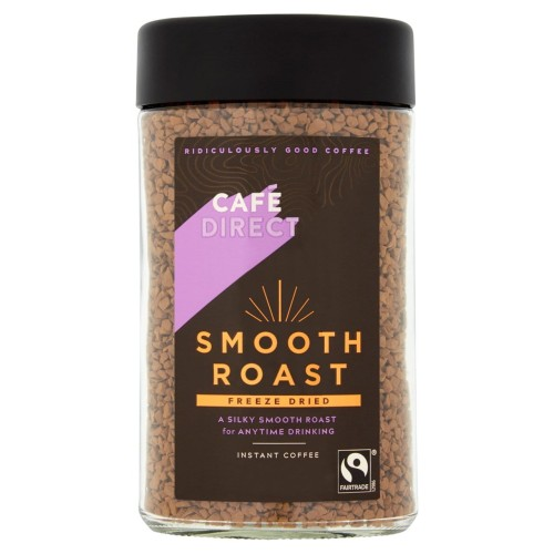 Cafedirect Fairtrade Smooth Roast Instant Coffee 100g.jpg