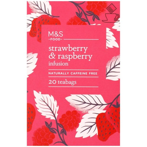 M&S Strawberry & Raspberry Infusion Tea Bags 20 per pack.jpg