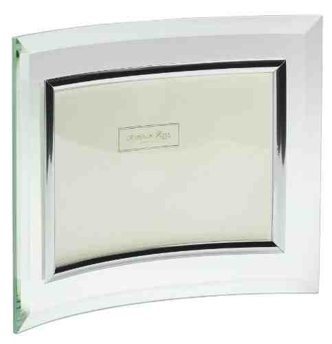 Addison Ross, Glass Photo Frame, Curved Landscape, 4 x 6 Inches photo size.jpg