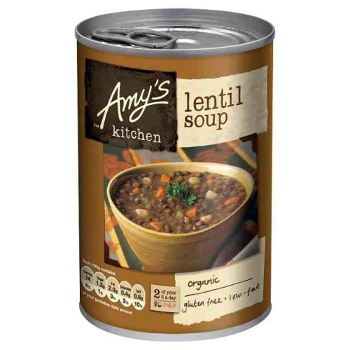 Amy's Kitchen Low Fat Lentil Soup 400g.jpg