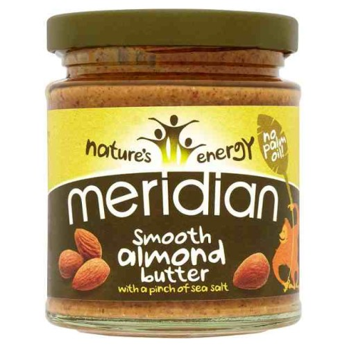 Meridian Nature's Energy Smooth Almond Butter 170g.jpg