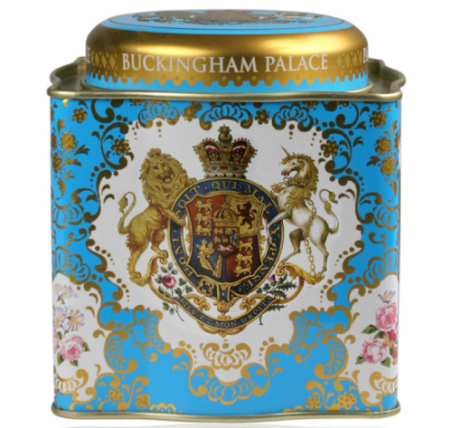BUCKINGHAM PALACE COAT OF ARMS TEA CADDY.jpg